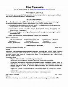web developer resume professional objective qualifications profile slebusinessresume com