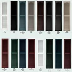 color sles for raised panel louver board n batten exterior vinyl shutters ebay