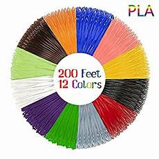 Amazon Com 3d Pen Filament Amazon Com 3d Pen Filament Refills 12 Unique Colors 20