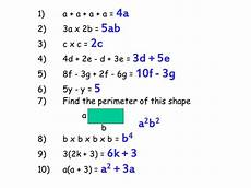 pictorial algebra starter ks2 ks3 gcse by layhing teaching resources tes