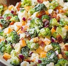 Recette Salade De Brocoli Et De Chou Fleur Salade
