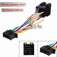 Car Stereo Radio Iso Lead Wiring Harness Loom Connector