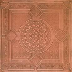 Tin Look Ceiling Tiles Antique Copper R30w 4 Sale Ebay