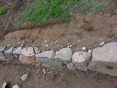 feldsteinmauer selber bauen trockenmauer selber bauen aus feldsteinen diy seite 2
