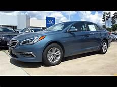 2015 Hyundai Sonata Blue 2015 hyundai sonata se review