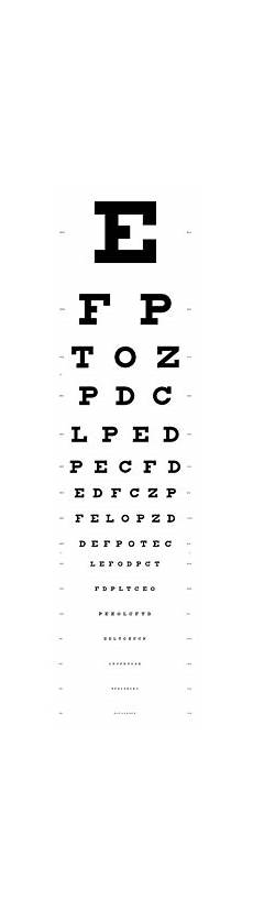 early learning resources eye test chart