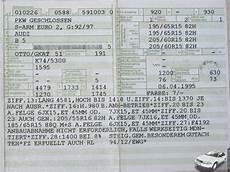 Golf 6 Welche Reifen Darf Ich Fahren - b5 gaskutsche de informationsverlust durch neue papiere