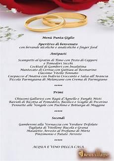 menu per banchetti banqueting per matrimoni e cerimonie ricevimenti e