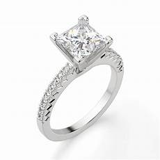angelix princess cut engagement ring