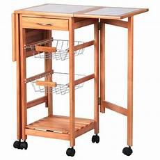 ktaxon rolling portable kitchen island storage drawers baskets trolley cart stand walmart com
