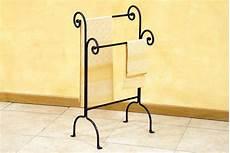 accessori bagno ferro battuto piantana porta asciugamani a 2 posti in ferro battuto a