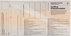 rubrique carte grise les rubriques de la carte grise nomenclature des chs