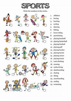 sports worksheets for toddlers 15796 sports worksheet