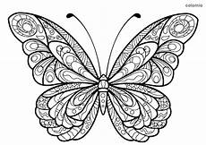 Ausmalbilder Schmetterling Mandala Butterflies Coloring Pages 187 Free Printable 187 Butterfly