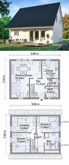 einfamilienhaus architektur neubau mit satteldach 4