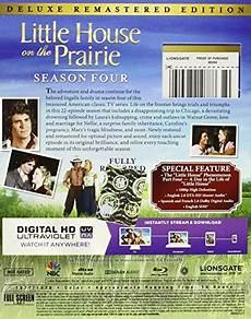 little house on the prairie season 4 deluxe remastered edition blu ray new