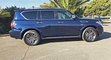 2019 nissan armada platinum reserve 4wd test drive our