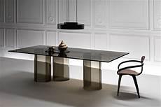 tavoli soggiorno cristallo tavoli in cristallo per il living materia da vivere tavoli