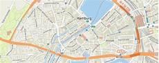Hamburg Sehenswürdigkeiten Karte - stadtplan hamburg adac maps