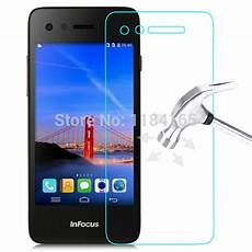 jonsnow front explosion proof tempered glass for foxconn infocus m2 lcd high clear screen