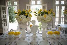 wedding decor in yellow and white modern chic yellow and white wedding ideas every last detail