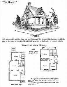 half timbered house plans half timbered queen anne hodgson plans 1905 moseley