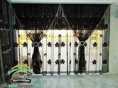 Rideaux Voilage Noir Haute Gamme Decoration Marocaine