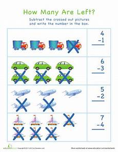 subtraction visual worksheets 10304 visual subtraction kindergarten easter worksheets education