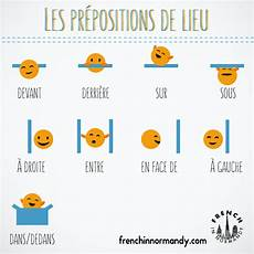 learn french 6 les pr 233 positions de lieu french in normandy