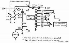 low power antenna tuner and swr meter power supply circuit circuit diagram seekic com