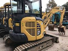 Benutzter Komatsu Minibagger Pc30mr 2 Komatsu 3 5 Tonnen