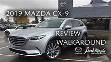 2019 Mazda Cx 9 Signature Sonic Silver Metallic 45p
