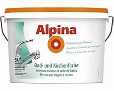 wandfarbe gegen schimmel alpina 5 liter bad k 252 chen spezialfarbe weiss matt