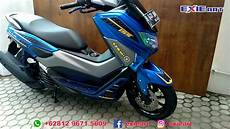Modifikasi Yamaha Nmax 155 by Modifikasi Yamaha Nmax 155 Tahun 2018 Motif Carbon Motor