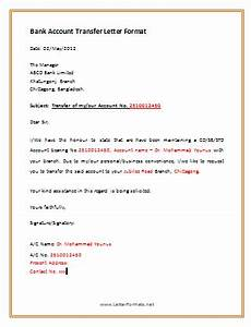 http www letterformats net sle download bank account transfer letter sle png