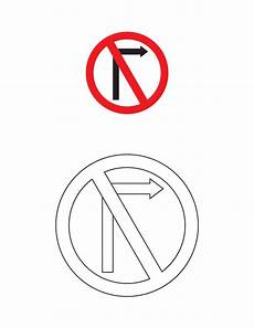 traffic signs coloring pages clipart best