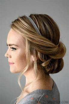 Einfache Frisuren Mit Haarband - 51 easy updos for hair to do yourself