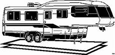 wohnwagen anhaenger ausmalbild malvorlage die weite welt