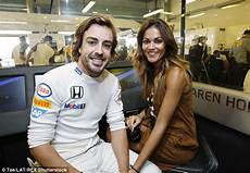 Fernando Alonso S Lara Alvarez At The F1 Abu