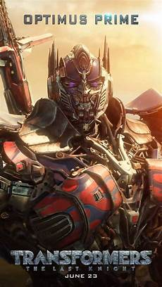 transformers the last motion poster optimus