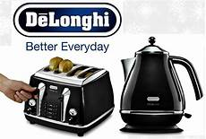 kettle and toaster sets delonghi icona 4 slice toaster and