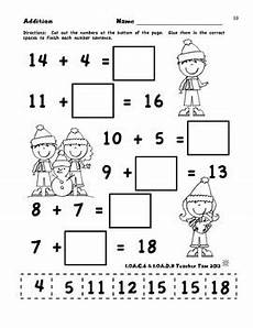 first grade math worksheets winter math worksheets first