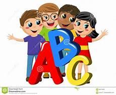 Kinder Malvorlagen Buchstaben Xl Multikulturelle Schulkinder Oder Kinderabc Buchstaben