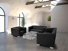 chicago 2er sofa ledersofa schwarz