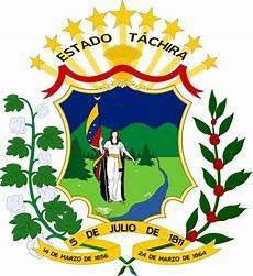 simbolo naturales del estado tachira fichier escudo estado tachira png wikip 233 dia