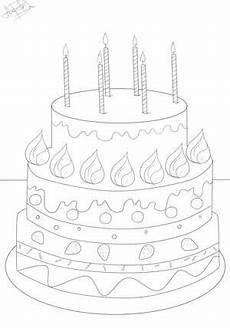 Malvorlagen Kinder Torte Ausmalbilder Geburtstagstorte Zum Ausdrucken Kinder