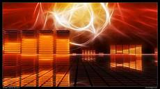 Abstract Wallpaper Orange Background