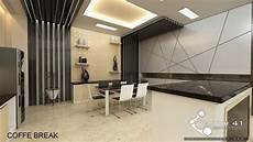 Interior Lobby Kantor