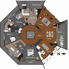 octagon house plans mater prize home tour caro kingi s octagon apartment