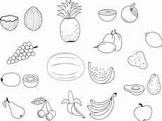 Malvorlagen Obst Ausmalbilder Obst